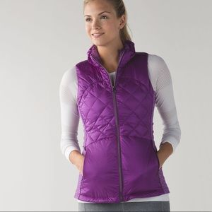 Lululemon | Down For A Run Vest Tender Violet